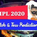IPL 2020 Match Prediction