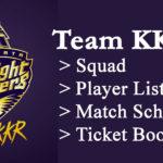 Vivo IPL KKR Match Schedule 2021